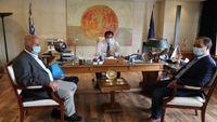 Συνάντηση Γεωργιάδη με τον δήμαρχο Καρδίτσας για τις πληγείσες περιοχές