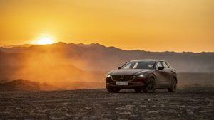 Το CX-30 με το εξελιγμένο σύστημα 4κίνησης i-Activ AWD διασχίζει το Καζακστάν