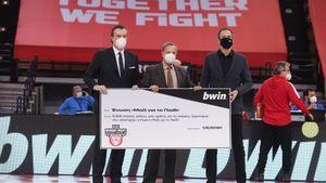 Η bwin και η Κ.Α.Ε Ολυμπιακός υποστήριξαν και τον Φεβρουάριο δεκάδες χιλιάδες συνανθρώπους