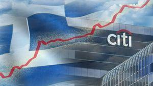Citigroup: Ανάπτυξη άνω του 10% στην Ελλάδα τη διετία 2021-2022