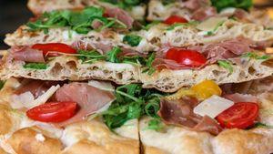 Το Croccante συνώνυμο της 100% χειροποίητης, φρέσκιας πίτσας scrocchiarella