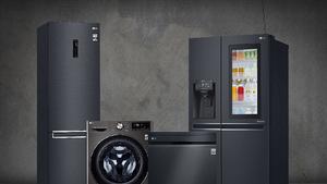 Νέα πολυτελή μαύρη σειρά οικιακών συσκευών της LG