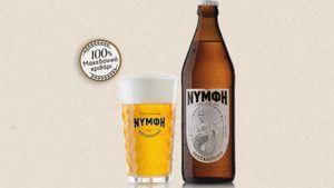 H μπύρα ΝΥΜΦΗ επίσημη μπύρα της ΔΕΘ