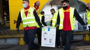 Ξεκίνησε η αερομεταφορά εμβολίων στην Ελλάδα από την DHL Express