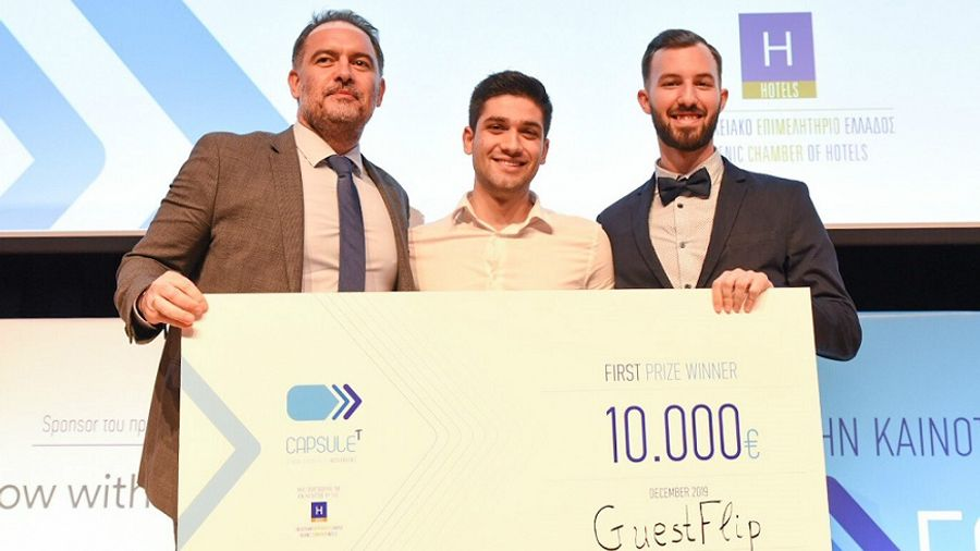 Οι νικητές του 1ουκύκλου του προγράμματος CapsuleT