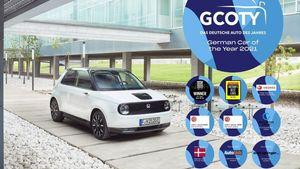 "Honda e - To πρώτο Ιαπωνικό ""Γερμανικό Αυτοκίνητο της Χρονιάς"""