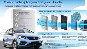 Η Honda Motor Europe λανσάρει νέο Premium Φίλτρο Καμπίνας κατά του ιού SARS CοV 2