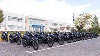 ΕΛ.ΑΣ: Η ομάδα δίκυκλης αστυνόμευσης «ΔΡΑΣΗ» ενισχύθηκε με 100 Honda GTR150 Supra