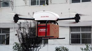 JD.com: Παραδόσεις με drones σε περιοχές της Κίνας που επλήγησαν από τον κοροναϊό