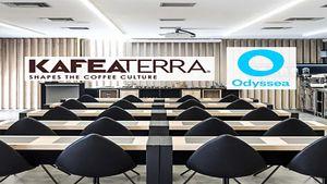Συνεργασία KAFEA TERRA & Odyssea