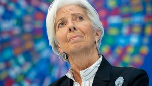 Λαγκάρντ: Ύφεση 8,7% στην ευρωζώνη το 2020