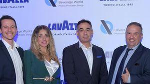 H Lavazza & η Beverage World γιορτάζουν την έναρξη της συνεργασίας τους