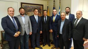 Συνάντηση Μάνου Κόνσολα με τον Επιμελητηριακό Όμιλο Ανάπτυξης Ελληνικών Νησιών