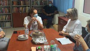Το Παιδικό Χωριό SOS της Θράκης επισκέφθηκε η Ντόρα Μπακογιάννη