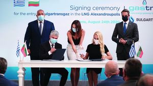 BULGARTRANSGAZ: Ολοκληρώθηκε η συμμετοχή στον σταθμό LNG Αλεξανδρούπολης