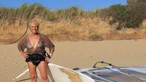 Το αισιόδοξο μήνυμα της γηραιότερης windsurfer στον κόσμο, Αναστασίας Γερολυμάτου