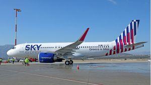 SKY express: Παρέλαβε το πρώτο από τα έξι ολοκαίνουργια AirbusA320neo