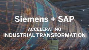 Οι Siemens και SAP συνεργάζονται για την επιτάχυνση του βιομηχανικού μετασχηματισμού