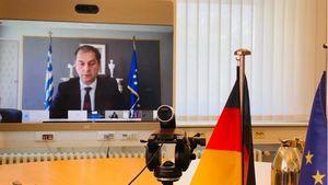 Θεοχάρης: Συμμετείχε στην τηλεδιάσκεψη των υπουργών Τουρισμού της ΕΕ.