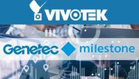 Η Vivotek επεκτείνει τη συνεργασία της με τις Genetec και Milestone