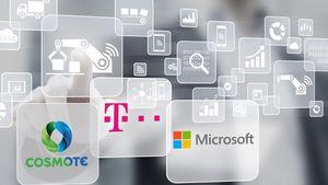 Cosmote και Microsoft επεκτείνουν τη συνεργασία με νέες λύσεις cloud για επιχειρήσεις