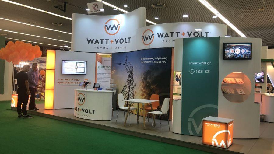 H WATT+VOLT «φώτισε» για 4η συνεχή χρονιά τη ΔΕΘ