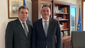 Συνάντηση Κόνσολα - Βλάση για την αξιοποίηση της δυναμικής του απόδημου Ελληνισμού