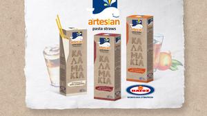 Η ΗΛΙΟΣ πρωτοπορεί με τα Artesian Pasta Straws, τα βιοδιασπώμενα καλαμάκια από ζυμαρικό