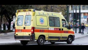 Λαμία: Σοβαρό τροχαίο – Μηχανάκι έπεσε πάνω σε γυναίκες που περπατούσαν