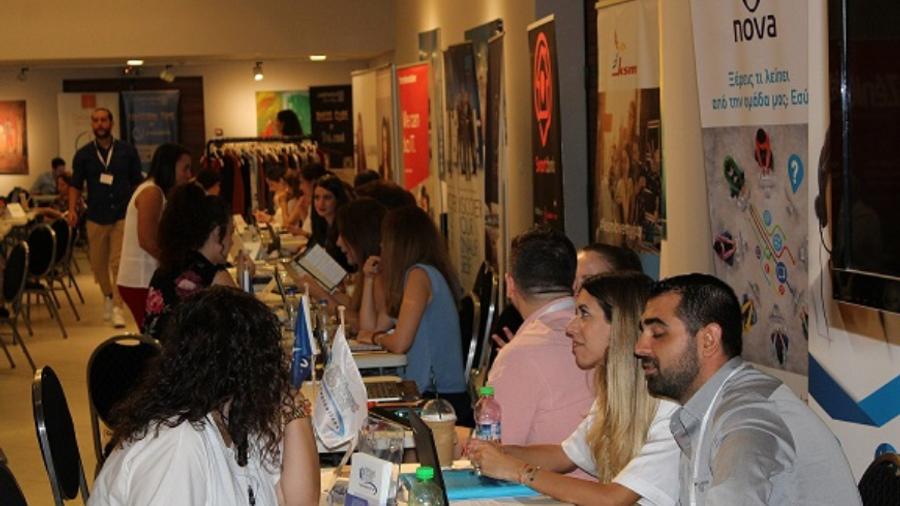 Περισσότερες από 14.000 συναντήσεις εργασίας με 69 εταιρίες στο Athens #JobFestival 2019