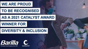 Η BARILLA κατάκτησε το βραβείο Premiere CATALYST 2021