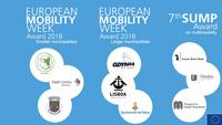 Η Λισαβόνα, το Lindau και το Ευρύτερο Μάντσεστερ κερδίζουν τα ευρωπαϊκά βραβεία βιώσιμης κινητικότητας