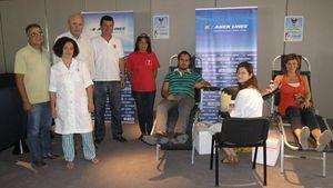 ΑΝΕΚ LINES: Επιτυχημένη η 8η Εθελοντική Αιμοδοσία