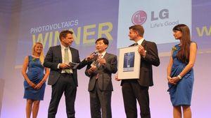 Η LG Electronics κερδίζει το Βραβείο Intersolar 2013
