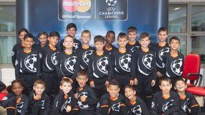 MasterCard: 22 παιδιά από την «Κιβωτό του κόσμου» έγιναν UEFA Player Escorts