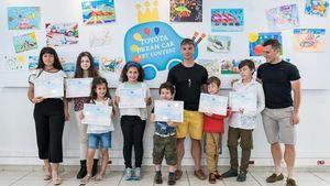 Toyota Hellas: Βραβεύσεις νικητών του 12ου Τoyota Dream Car Art Contest
