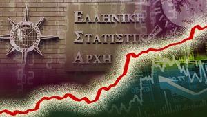 ΕΛΣΤΑΤ: Ανάπτυξη 1,3% για την οικονομία το πρώτο τρίμηνο-Αύξηση επενδύσεων