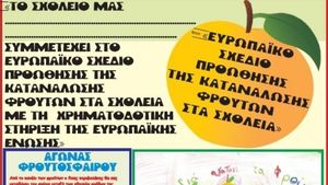 ΥΠΑΑΤ: Ξεκίνησε η δωρεάν διανομή φρούτων στα σχολεία
