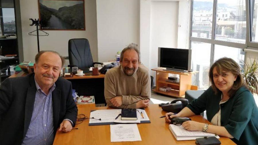 ΥΠΑΑΤ: Συνάντηση της Ολυμπίας Τελιγιορίδου με τη διοίκηση του ΕΛΓΟ-ΔΗΜΗΤΡΑ