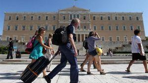 ΤτΕ: Αύξηση 8,6% σις αφίξεις τουριστών στην Ελλάδα