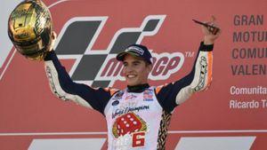 Δεύτερο συνεχόμενο πρωτάθλημα MotoGP για τον Marc Marquez και triple crown για τη Honda