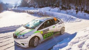 Honda: Στη ράμπα τερματισμού του Rallye Automobile Monte Carlo το ελληνικό πλήρωμα