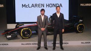Η Honda Motor Co. παρουσίασε την την ομάδα McLaren Honda