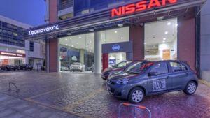 Νέα κάθετη μονάδα Nissan στo Χαλάνδρι