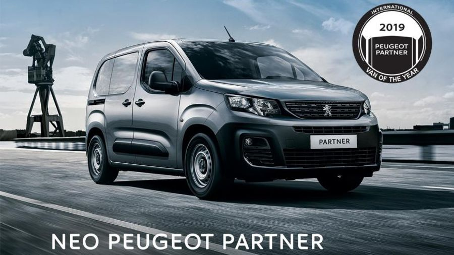 Νέο PEUGEOT PARTNER Van με 14.518€