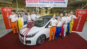 Kia Motors: Γιορτάζει την παραγωγή 3.000.000 αυτοκινήτων στην Ευρώπη