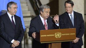 ΟΗΕ: Επιβεβαιώνει τη συνάντηση Αναστασιάδη- Ακιντζί με τον Αντ. Γκουτέρες, στις 4 Ιουνίου