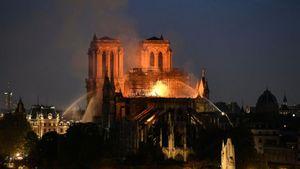Γαλλία: Σε ατύχημα οφείλεται κατά πάσα πιθανότητα η πυρκαγιά στην Παναγία των Παρισίων