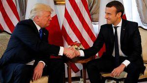 Οριστική εξαίρεση της Ευρώπης από τους δασμούς ζητά ο Μακρόν από τον Τραμπ
