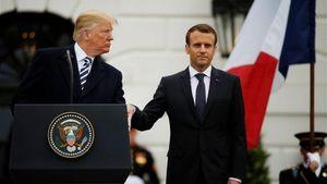 Τραμπ σε Μακρόν: Αφήστε τον ευρωπαϊκό στρατό και πληρώστε για το ΝΑΤΟ